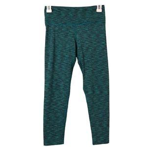 90 Degree By Reflex Green Capri Active Legging XS